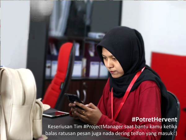 Hervent project manager
